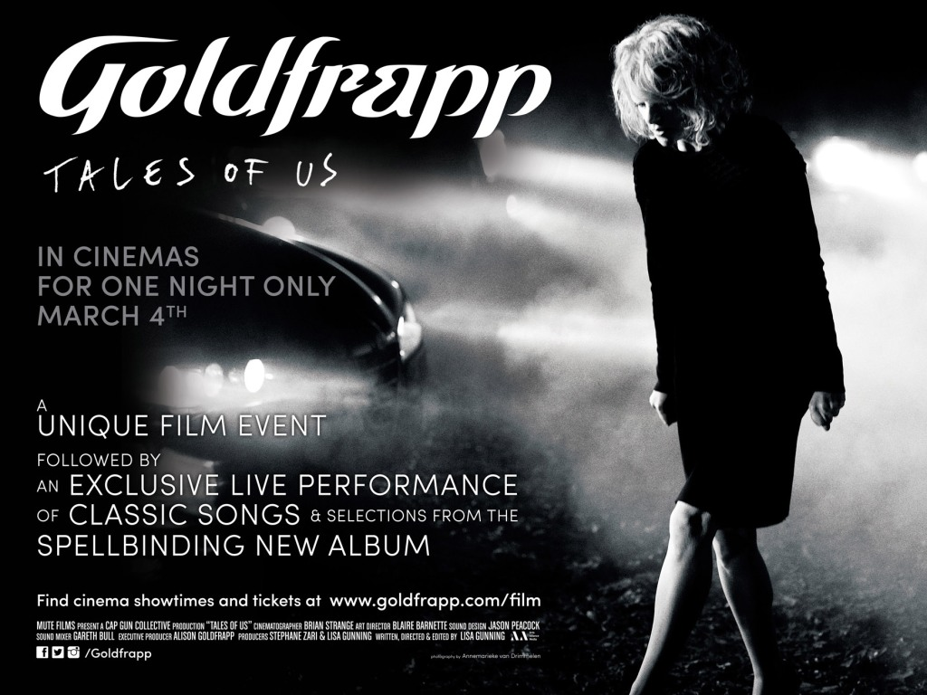 Goldfrapp - live in the cinema tonight!