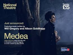 Really excited to be playing the music for 'Medea' written by Will Gregory and Alison Goldfrapp tonight at The National.